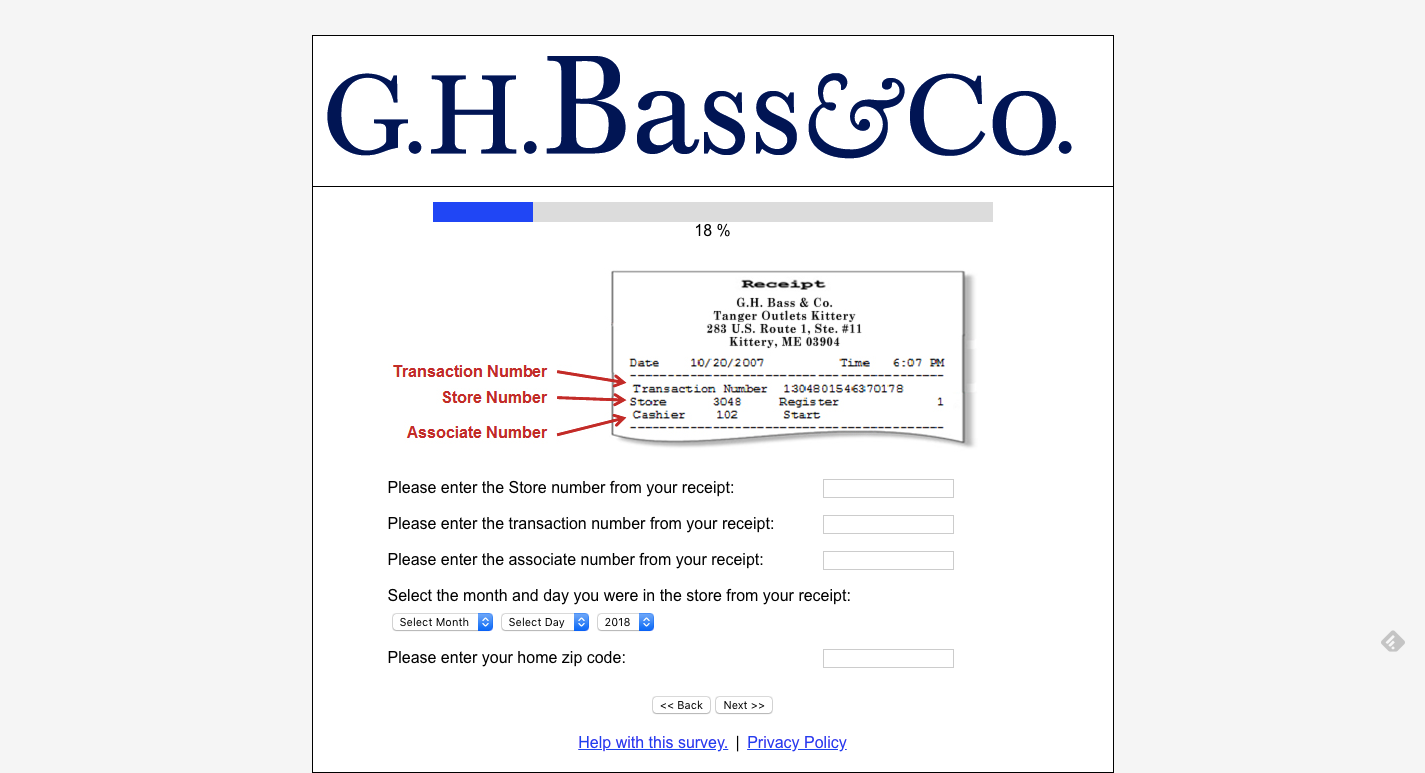 8074be10039 Submit the form upon completion and you will be entered into the quarterly  drawing for the chance to win the  500 G.H. Bass   Co. Gift Card.