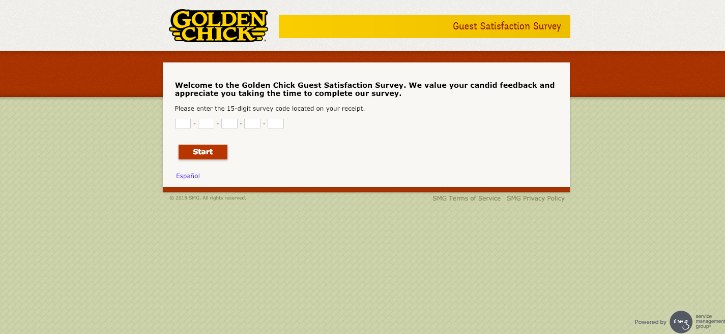 Golden Chick Guest Satisfaction Survey Welcome.png