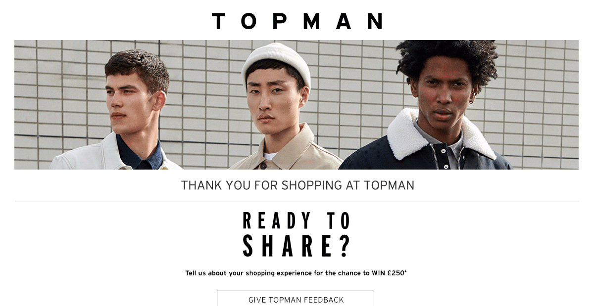 topman feedback survey