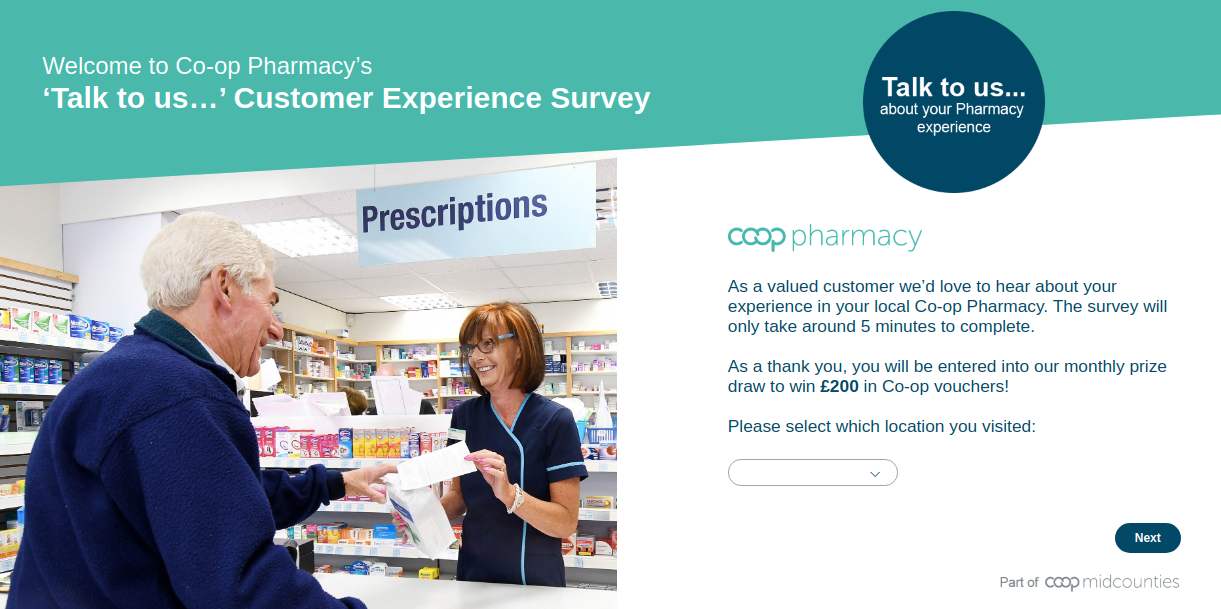 Midcounties Pharmacy Survey