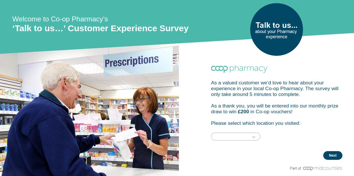 Midcounties Pharmacy Survey