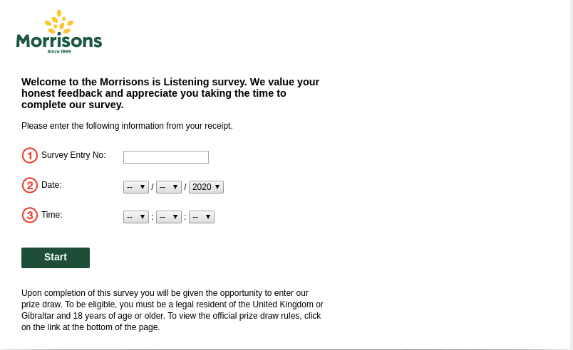 Morrisons Listening Survey