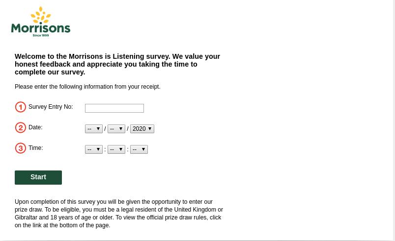 Morrisons Listening Survey