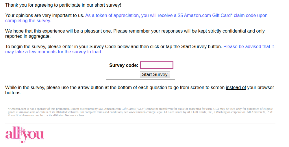 OpinionTrack-survey