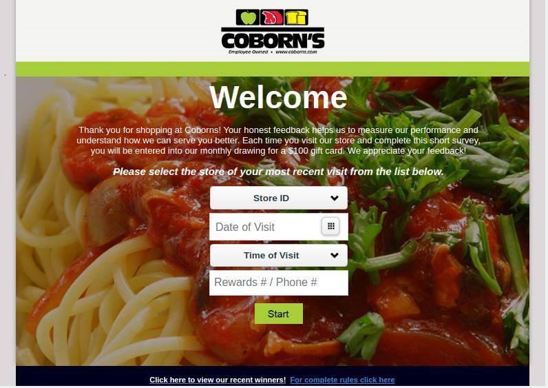Coborns Survey