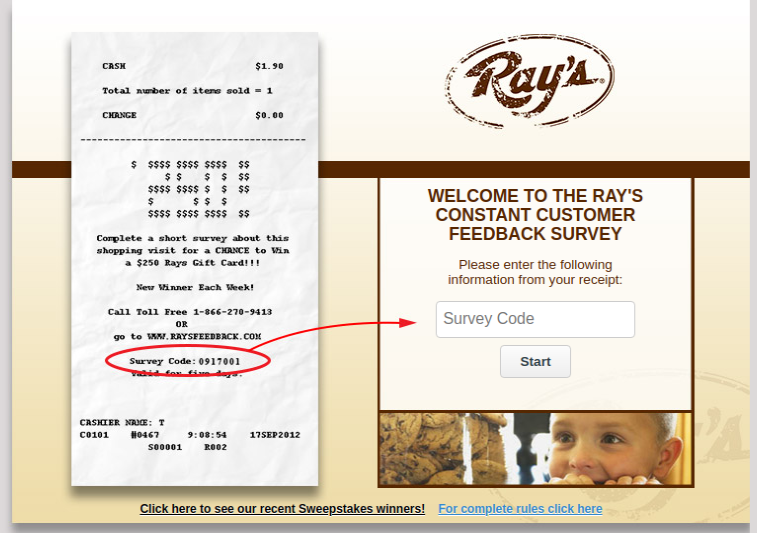 Rays Constant Customer Survey