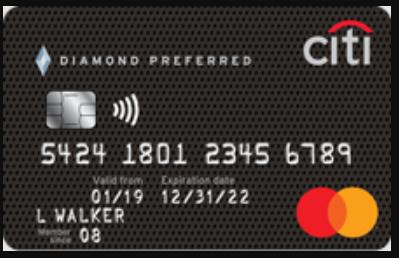 Citi Diamond Preferred Card Logo